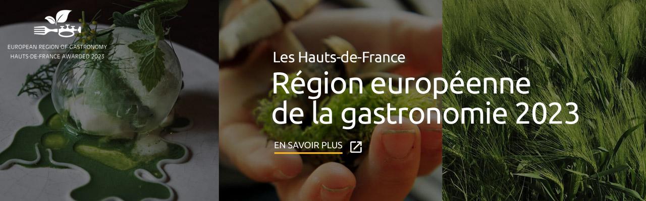 Région européenne de la Gastronomie 2023